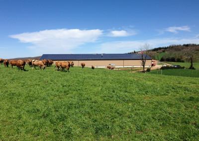 PV-Kraftwerk Aurillac Fraisse
