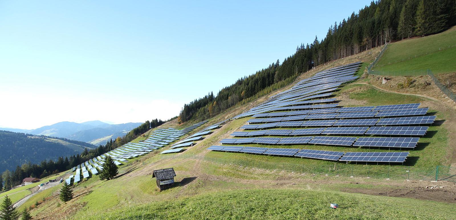 PV power plant Flachau