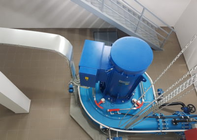 Wasserkraftwerk Mlecva