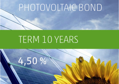 The PV-Invest Photovoltaic Bond b) 4.50 % p.a. 2017-2027